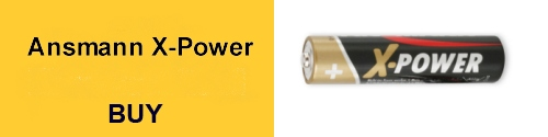 Ansmann X-Power Batteries